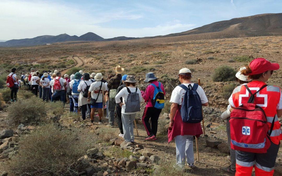 Tercera Ruta de Senderismo para Mayores entre El Cardón y Las Hermosas
