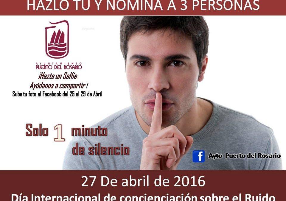 Participa en una divertida iniciativa para concienciar sobre el ruido
