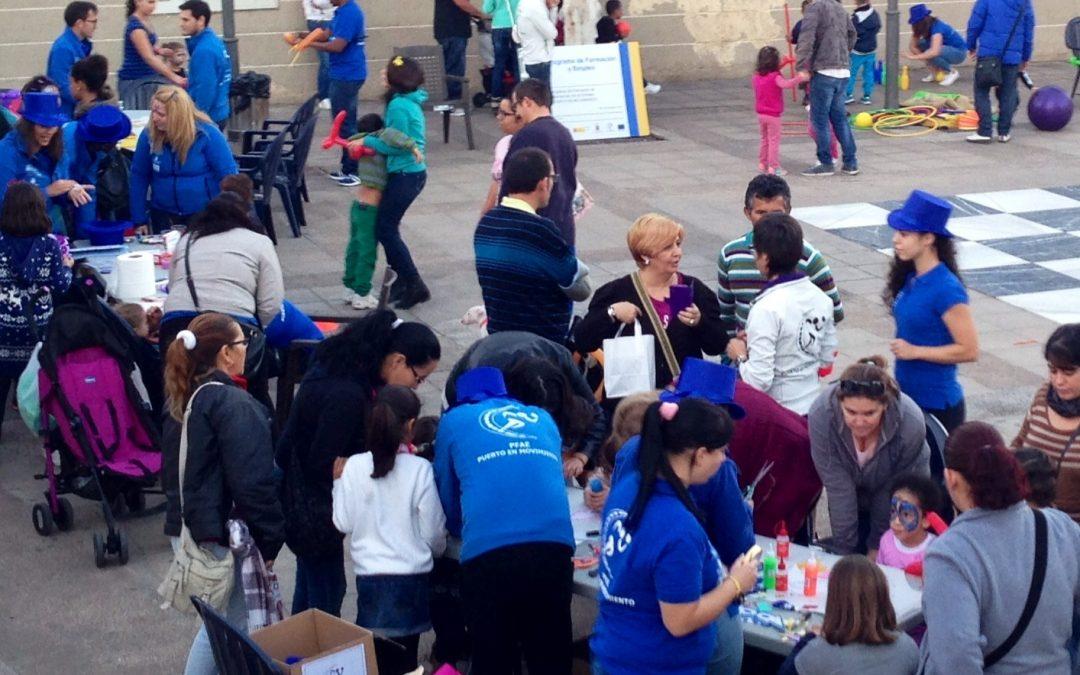 El Alcalde y la Concejala de Desarrollo local visitan «Puerto en Movimiento»