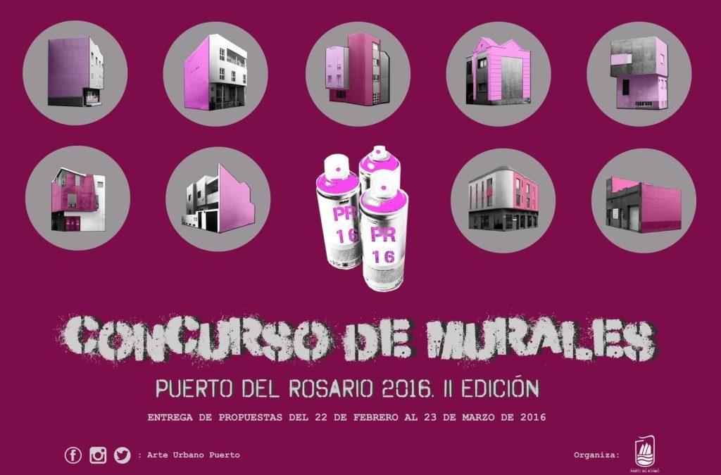 Presentación del II Concurso de Murales de Puerto del Rosario