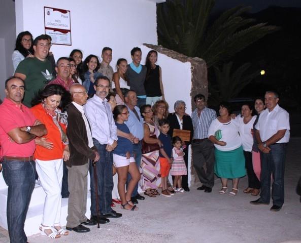 La Matilla homenajea con cariño a Inés Gómez, partera del pueblo