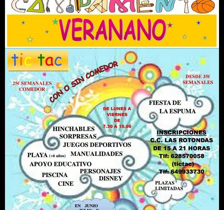 Abierto el plazo para el campamento infantil y juvenil «Veranano 2017»
