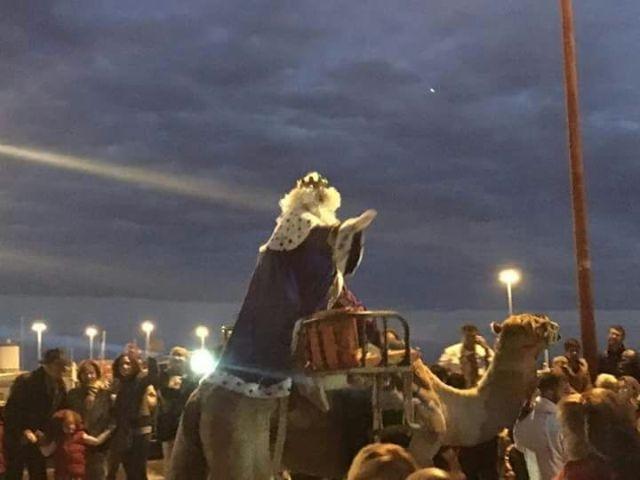 Cabalgata de Reyes y Belén gigante las estrellas de la Navidad en Puerto del Rosario