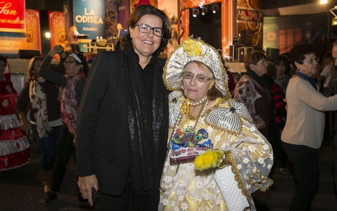 Los mayores disfrutan de su Carnaval