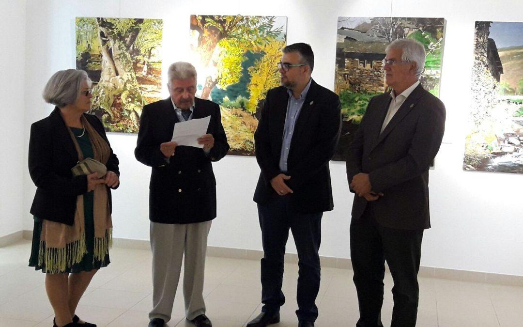 La exposición de Cholo Cruces, hasta el 04 de mayo en la Casa de la Cultura