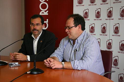 EL ALCALDE Y EL PRESIDENTE DE LA AUTORIDAD PORTUARIA DE LAS PALMAS SE REUNEN EN LA CAPITAL.