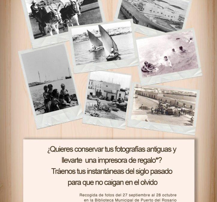 Presentación de la iniciativa «Digitalizamos tus recuerdos»