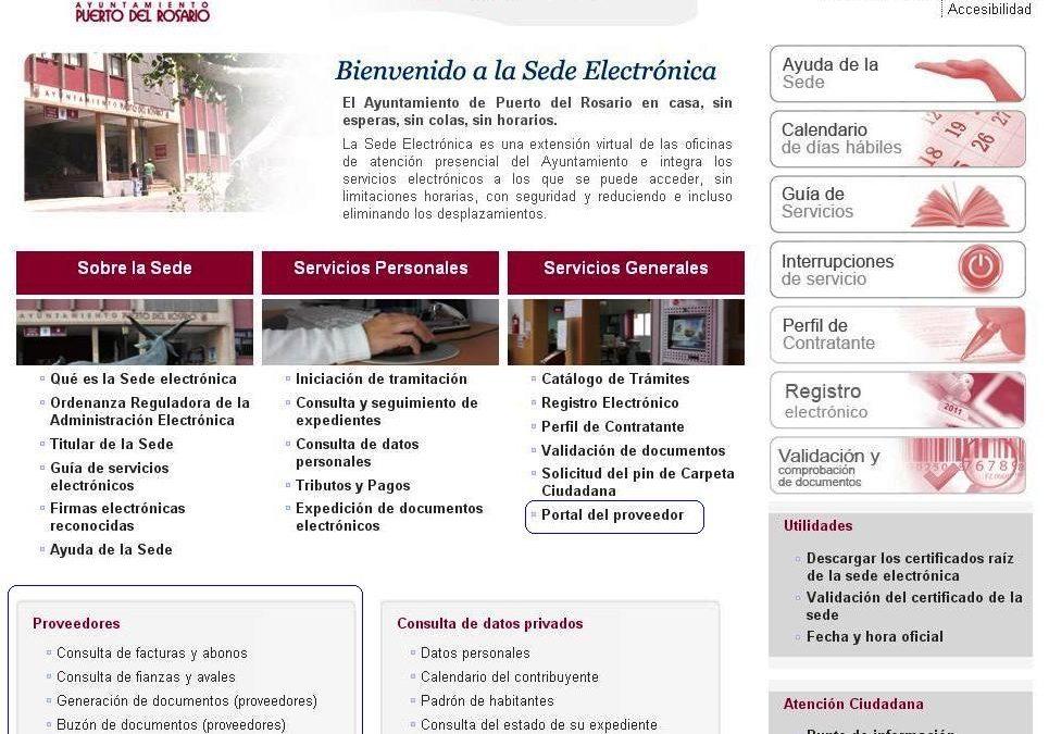 El Ayuntamiento acerca la administración electrónica a empresas y proveedores