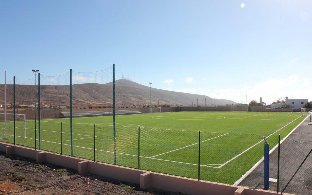 El nuevo campo de Futbol de Tetir se llamará Domingo Juan Vera Alonso