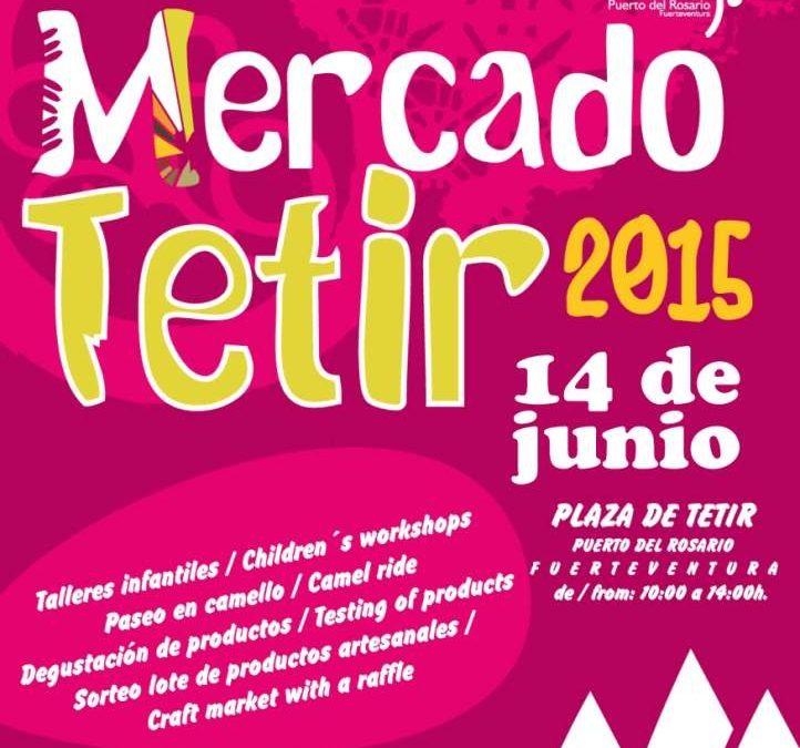 Nueva cita con el Mercado Artesanal de Tetir, este domingo, 14 de junio