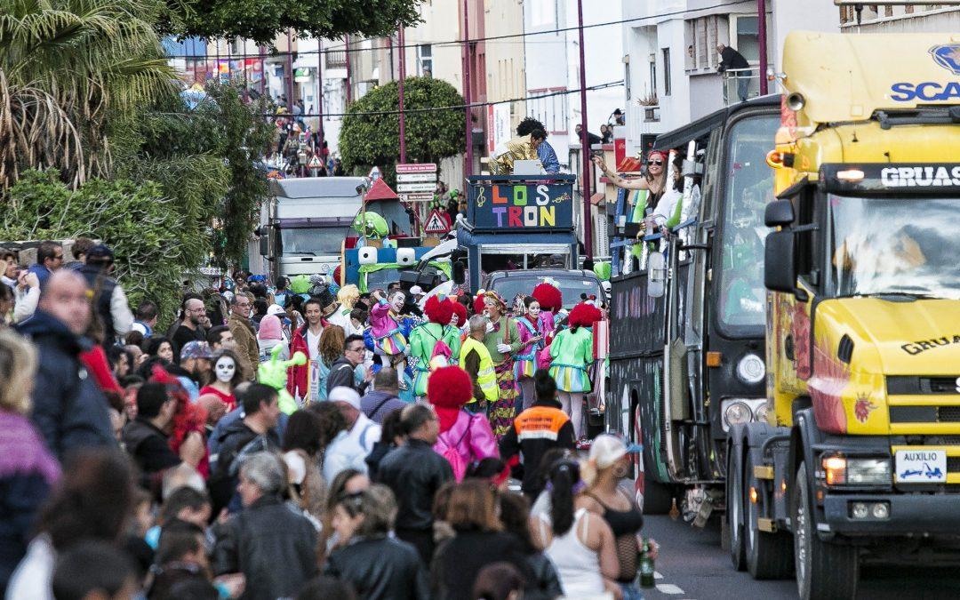 Gran Cabalgata del Carnaval de Puerto del Rosario. Requisitos participantes