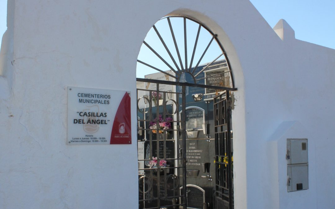Horario de misas en los cementerios municipales en el Día de los Difuntos