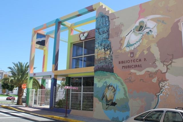 Puerto del Rosario promueve las instalaciones culturales