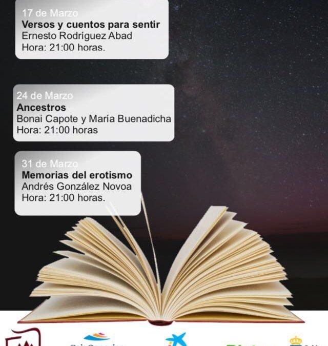 Última cita con Los Cuentacuentos para adultos, hoy viernes 31 de marzo