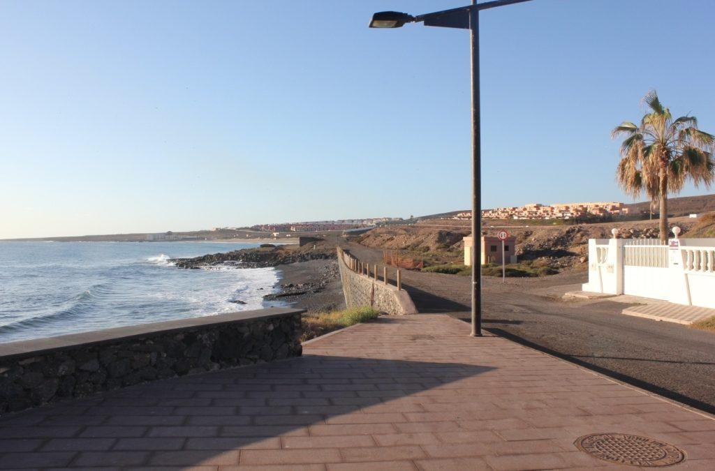 Avance en la continuación del Paseo Marítimo hasta el antiguo Parador