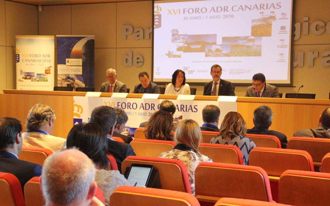 El Alcalde participa en la inauguración del XVI Foro ADR Canarias