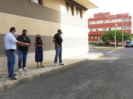 Comienzan las obras de saneamiento y reasfaltado de la calle Pizarro en El Charco
