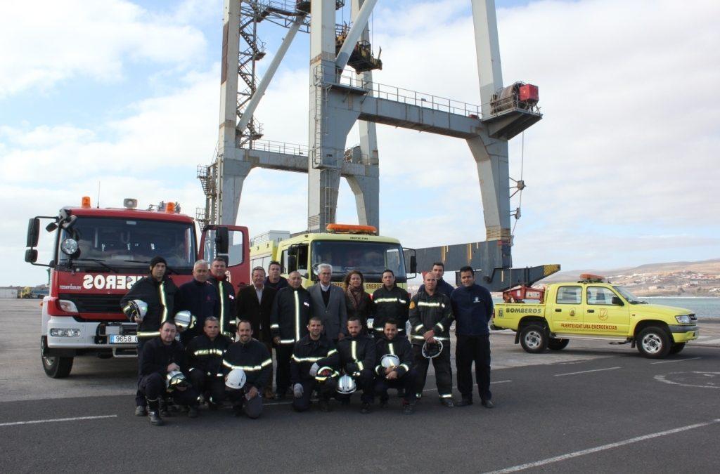 Los Bomberos de Puerto del Rosario reciben  formación avanzada