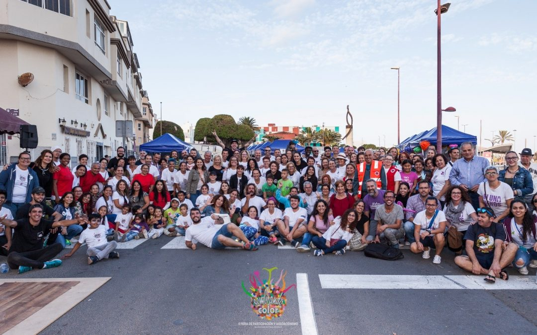 La II Feria «Sembrando Color»  pone en valor al mundo asociativo