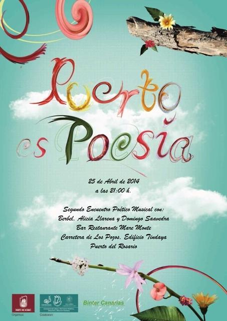 El próximo 25 de abril vuelve «Puerto es Poesía»