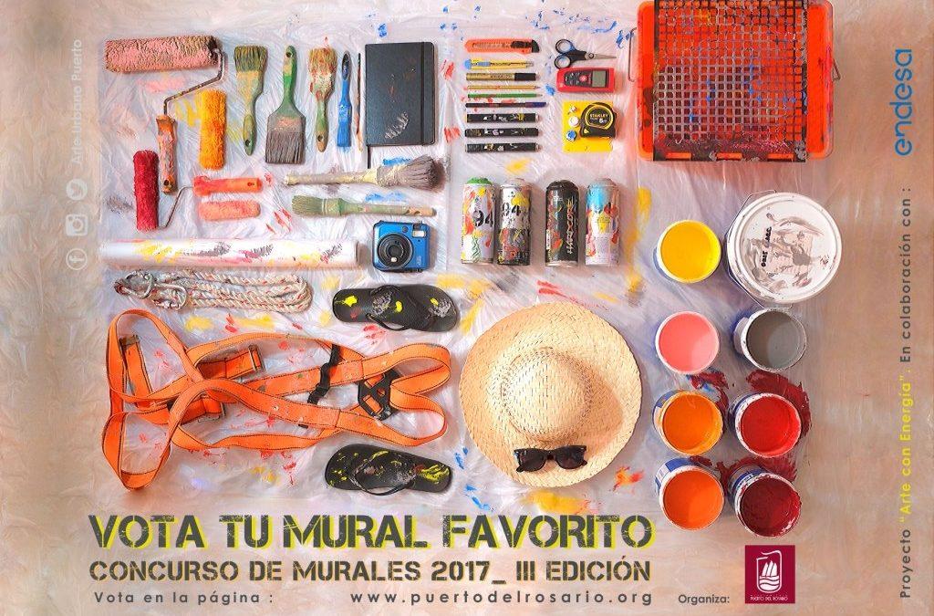 Comienza la votación popular del III Concurso de Murales de Arte Urbano