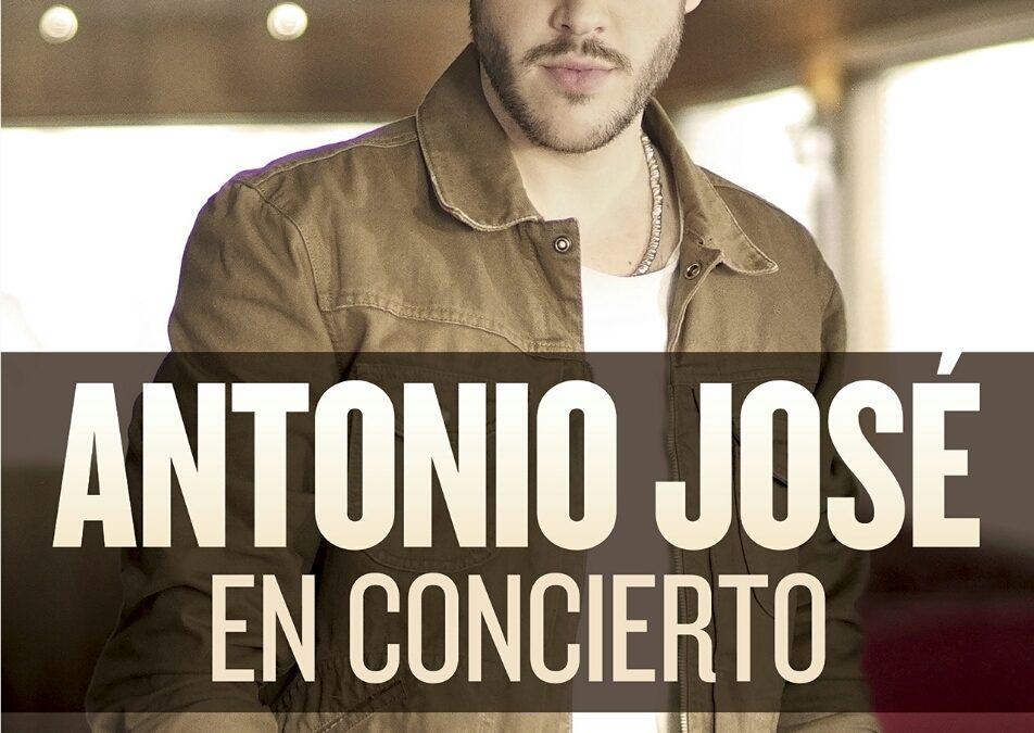 Concierto de «Antonio José», el 30 de septiembre, en las fiestas de la capital