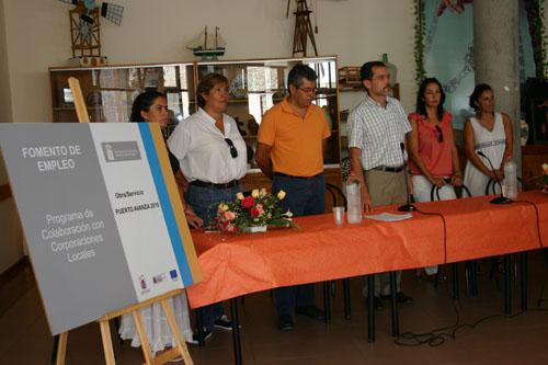 PRESENTACIÓN DE «PUERTO AVANZA 2010»