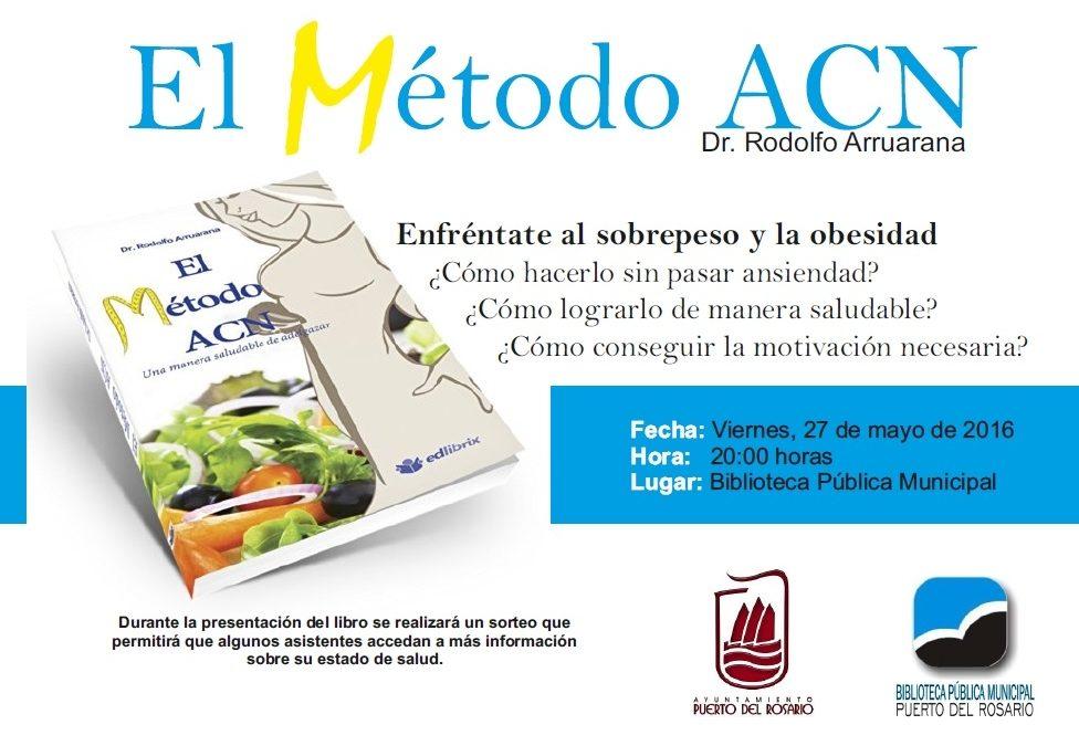 Se presenta el libro «El Método ACN», una alternativa natural para perder peso
