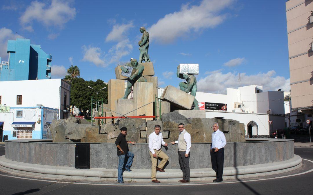 Mantenimiento y restauración del Parque Escultórico municipal