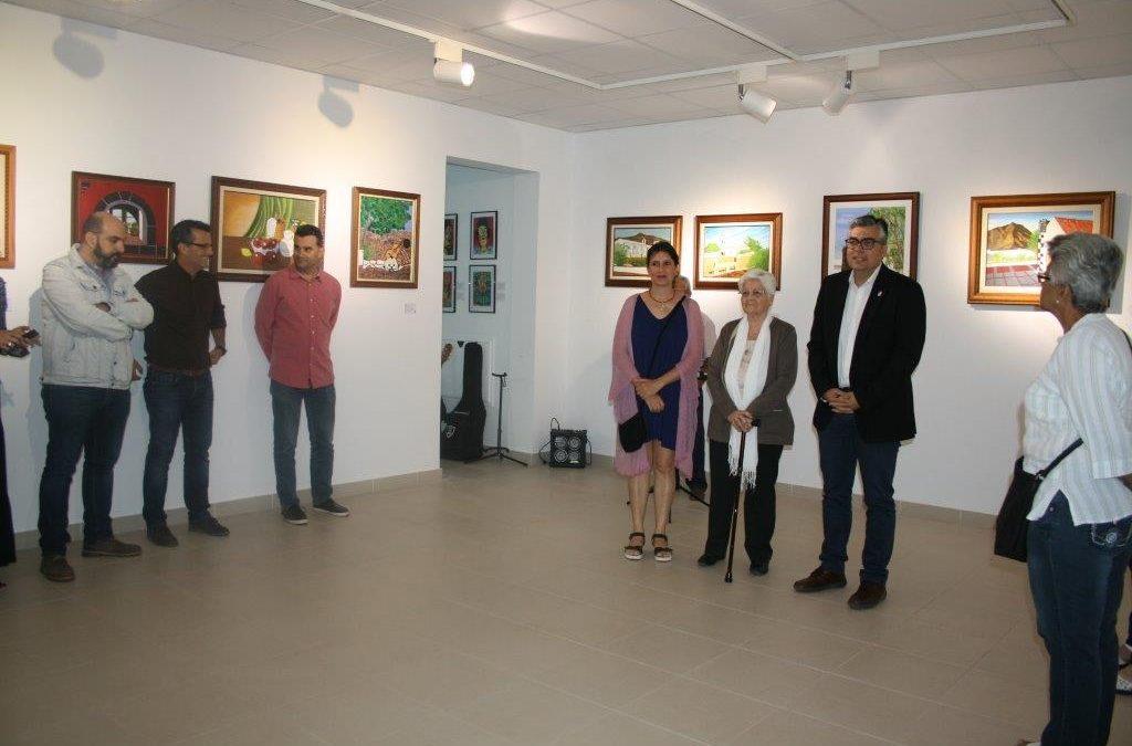 Inaugurada la exposición de Carmen Rita Márquez