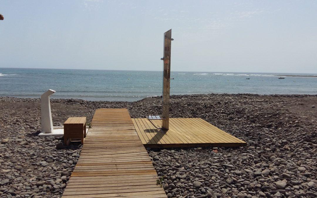 Mejoras en las playas de Puerto del Rosario