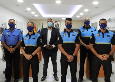 Tres policías locales se suman a la plantilla de Puerto del Rosario