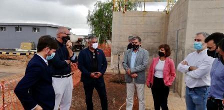 Se retoma el proyecto inicial para la instalación del depósito laminador de agua residual