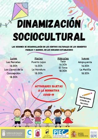 Puerto del Rosario lanza un nuevo programa de dinamización sociocultural