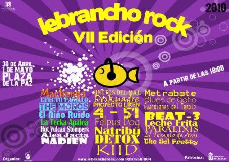 23 BANDAS DE ROCK Y 5 DJ´S ESTARÁN ARRIBA DEL ESCENARIO DE LEBRANCHO ROCK 2010