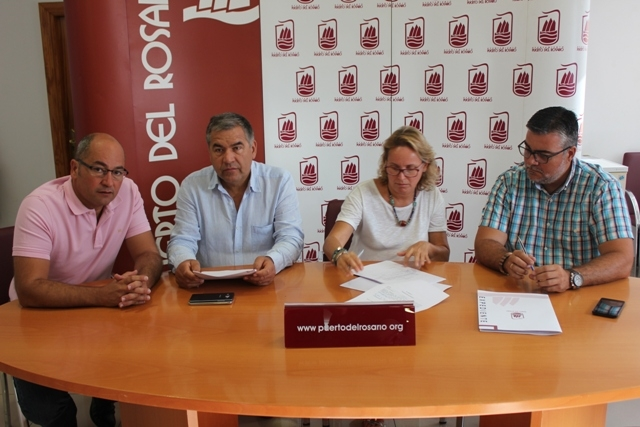 Firma del contrato de limpieza, mantenimiento y jardinería de los cementerios de Puerto del Rosario