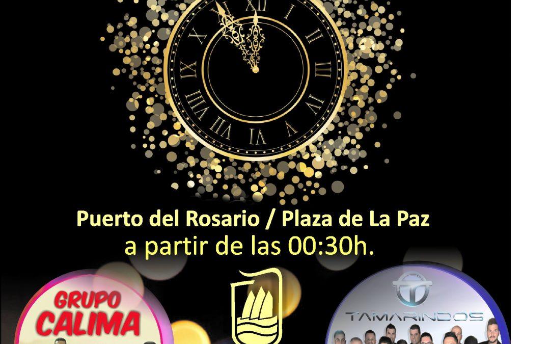 Gran Fiesta de Fin de año en la Plaza de la Paz con entrada gratuita