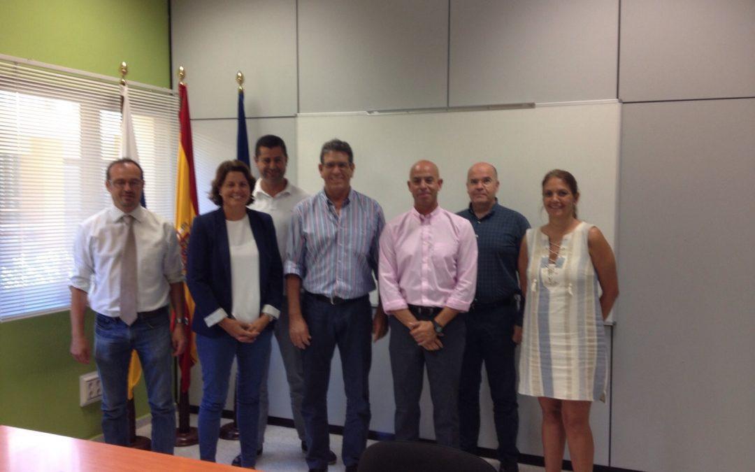 Visita de la Concejala de Industria al ITC