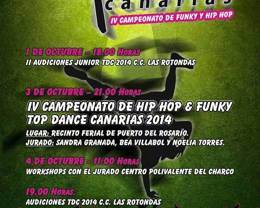 Se presenta el Top Dance Canarias. IV Campeonato de Hip Hop & Funky
