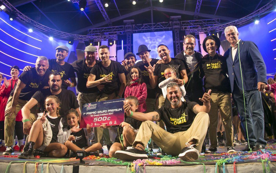 El Canarias Top Dance se corona como «Rey de las Fiestas»