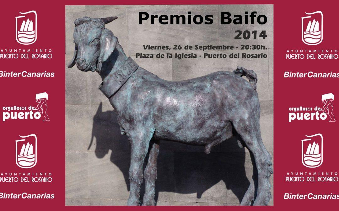 Los Premios Baifo 2014 premiarán este año a las tradiciones