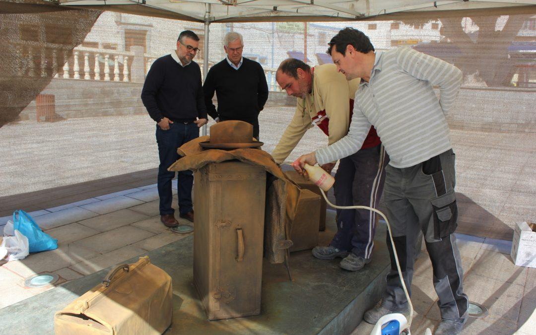 Rehabilitación de la obra del escultor vasco Eduardo Úrculo