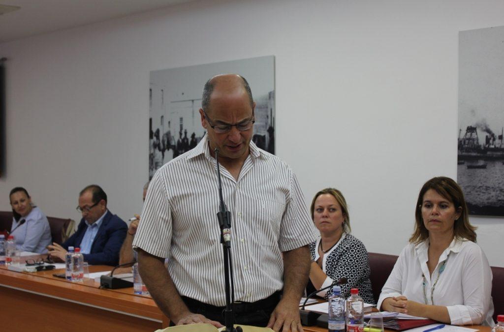 Luis Chacón toma posesión como Concejal del Ayuntamiento capitalino