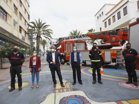 Un nuevo Camión autoescalera se suma a la flota del Parque de Bomberos municipal