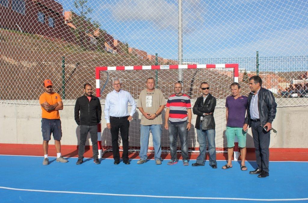 Nueva cancha deportiva para Playa Blanca