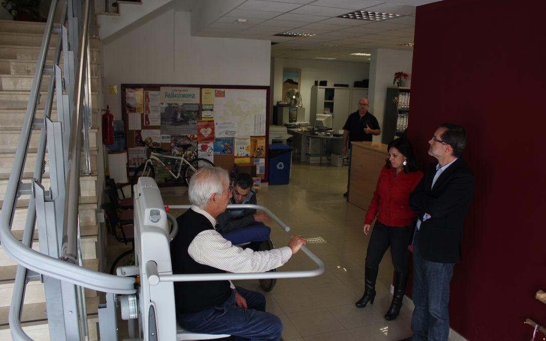 Visita de la Frater al Ayuntamiento de Puerto del Rosario