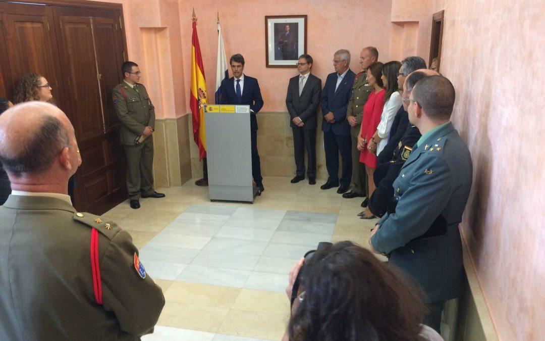 Alcalde asiste al acto de reconocimiento al soldado Francisco Gutiérrez
