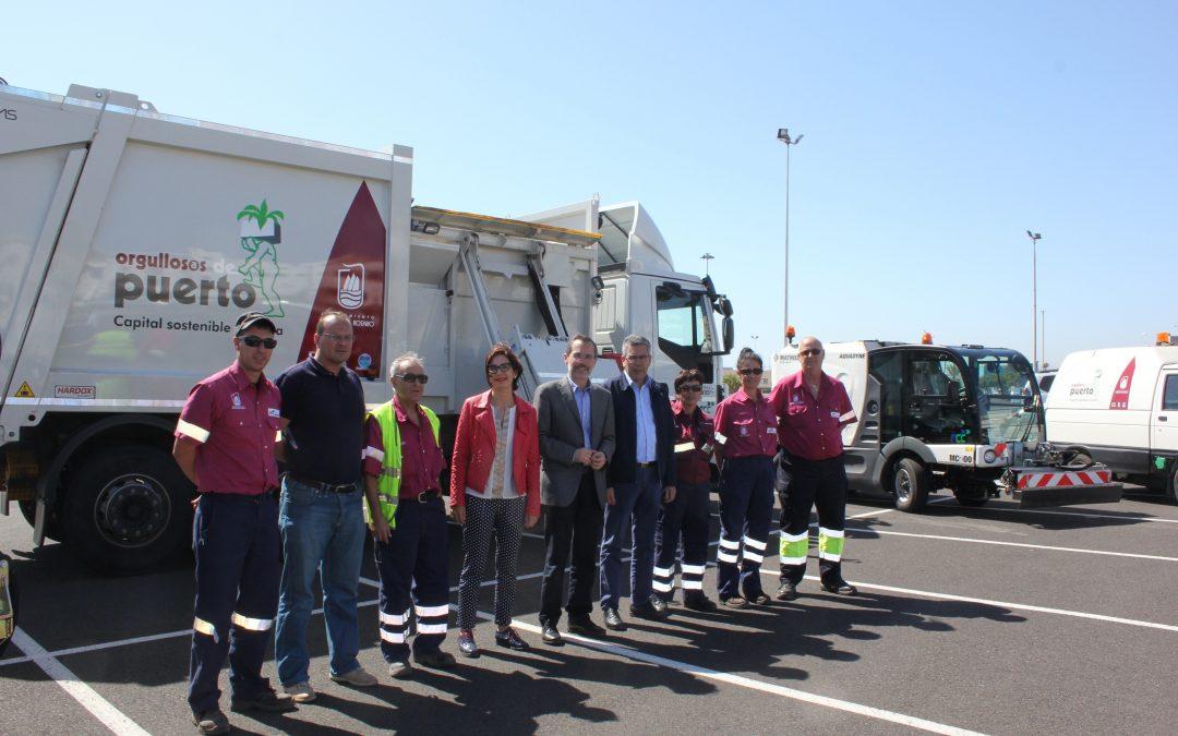 El Servicio de Limpieza municipal se dota de nuevos vehículos