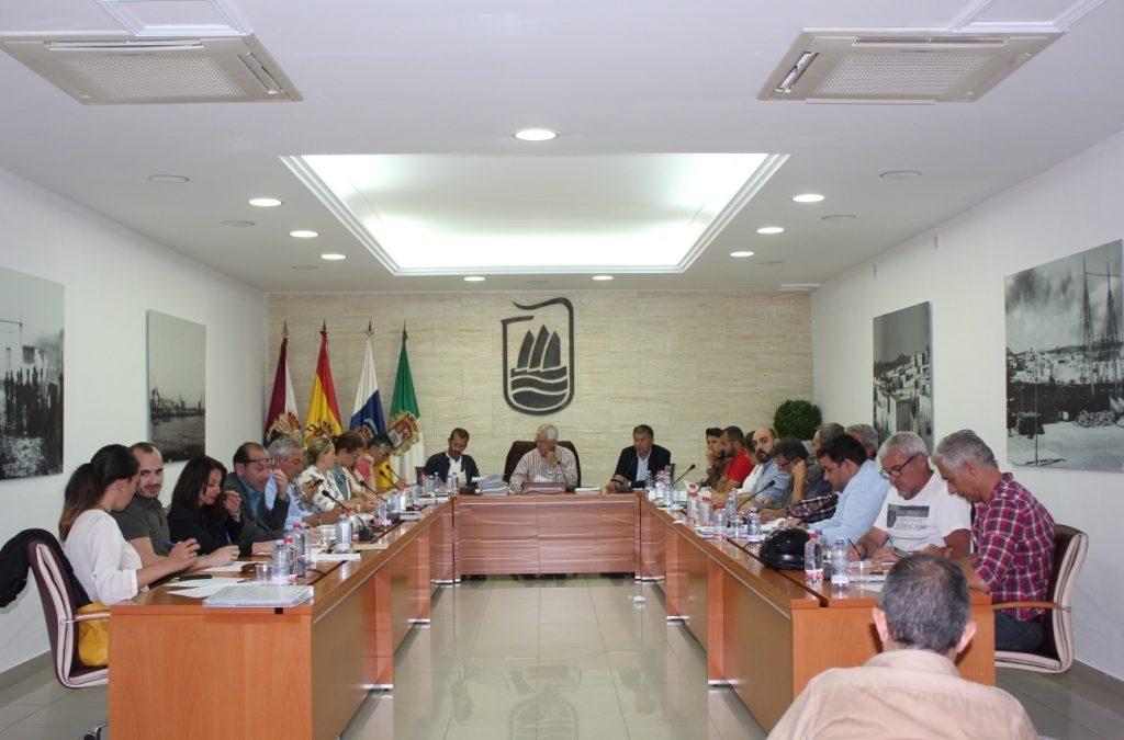 Apoyo unánime a  la candidatura «Islas Canarias, Olas de Juventud 2019»