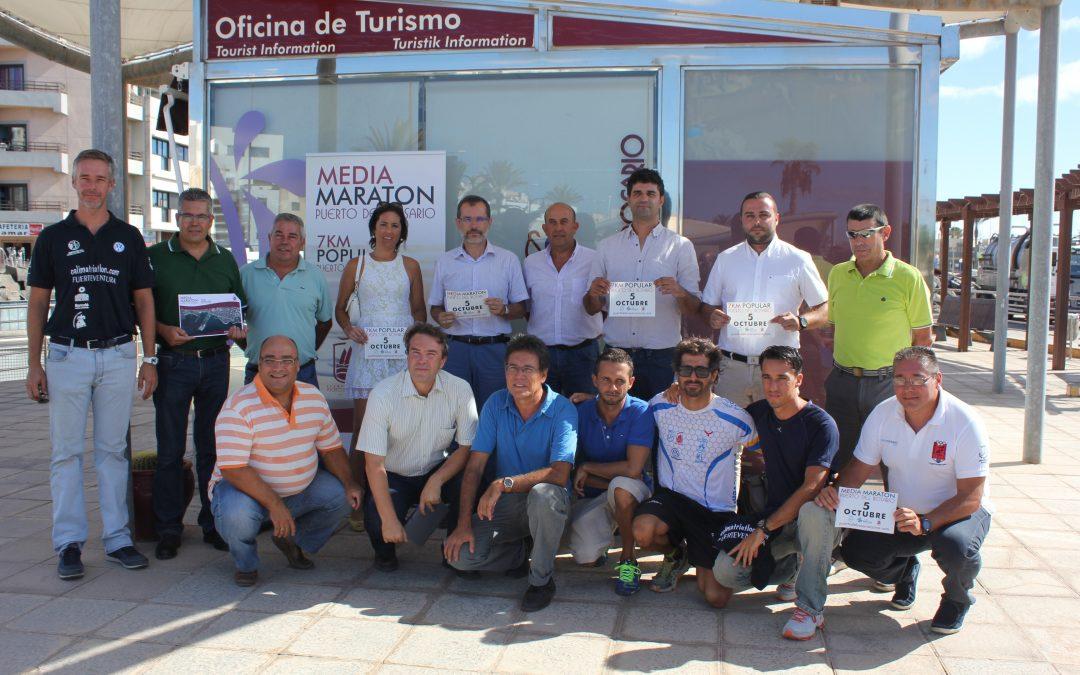 Presentación de la Media Maratón de Puerto del Rosario